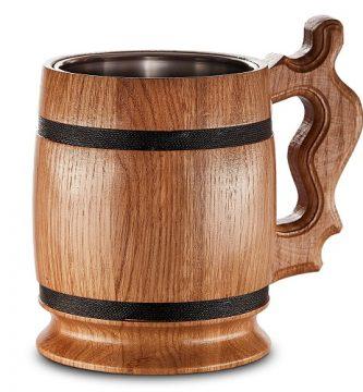 jarras cerveza madera baratas