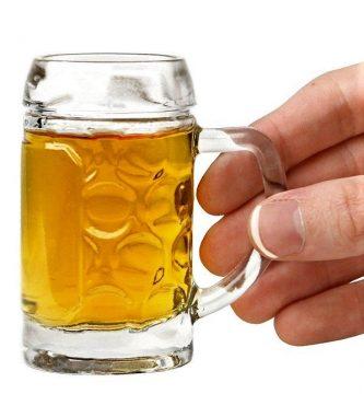 mini jarras de cerveza