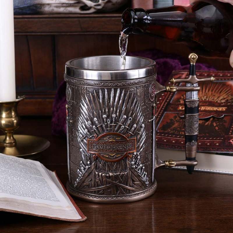 jarras de cerveza game of thrones